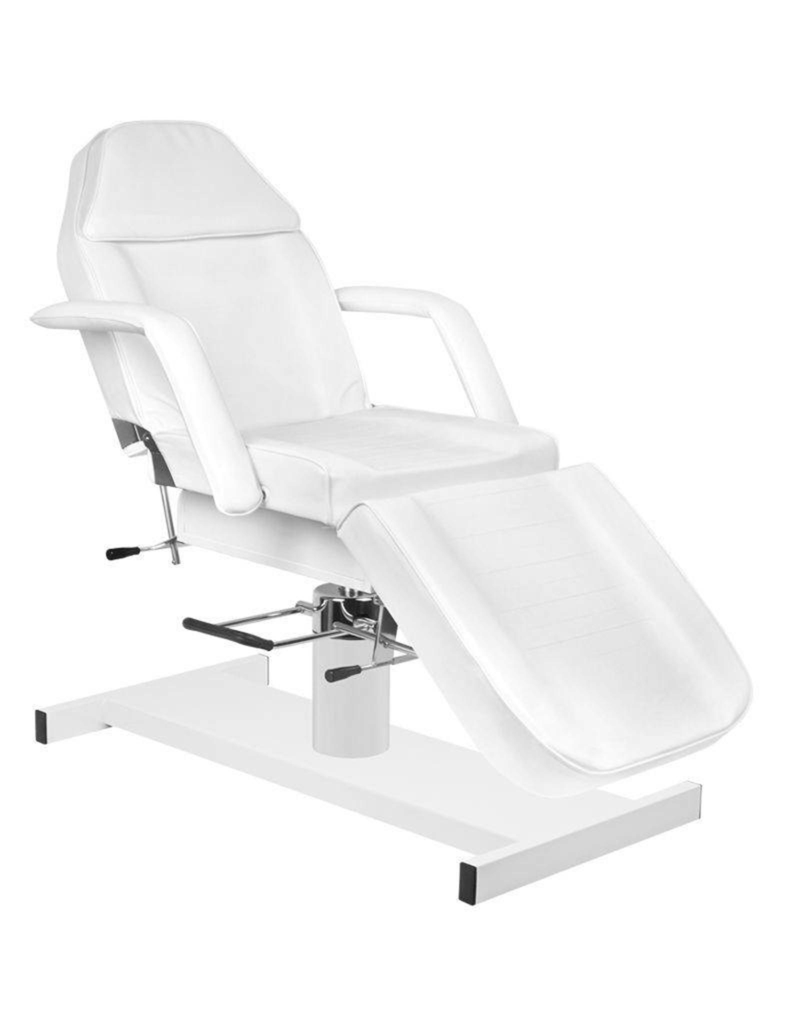 Mega Beauty Shop® Behandelstoel/Pedicurestoel wit