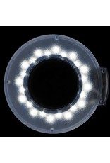 Mega Beauty Shop® LED Loeplamp met rolstatief - Wit