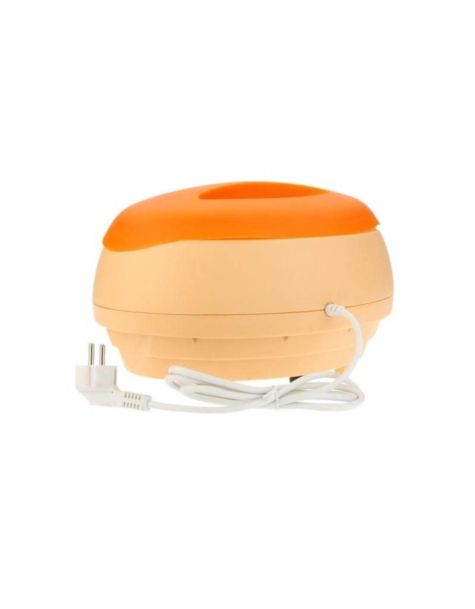 Mega Beauty Shop® Paraffinebad set standaard oranje