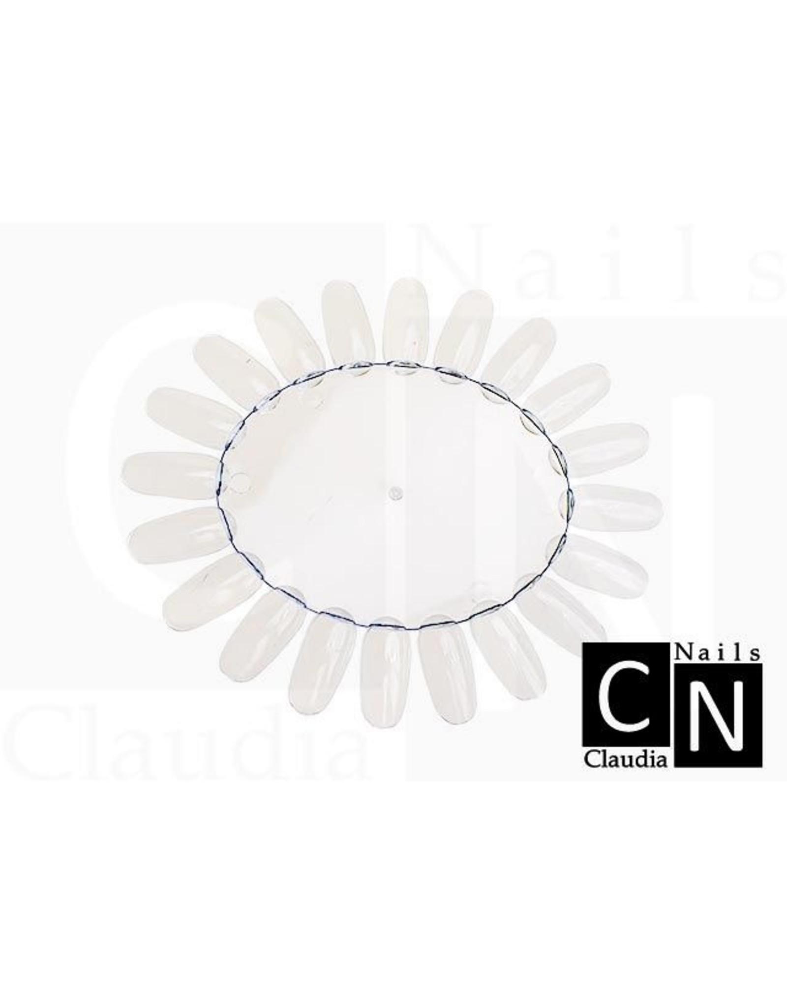 Merkloos Presentatie rondel naturel