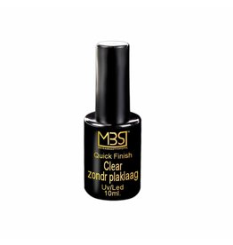 Mega Beauty Shop® Quick Finish gel zonder plaklaag 10 ml