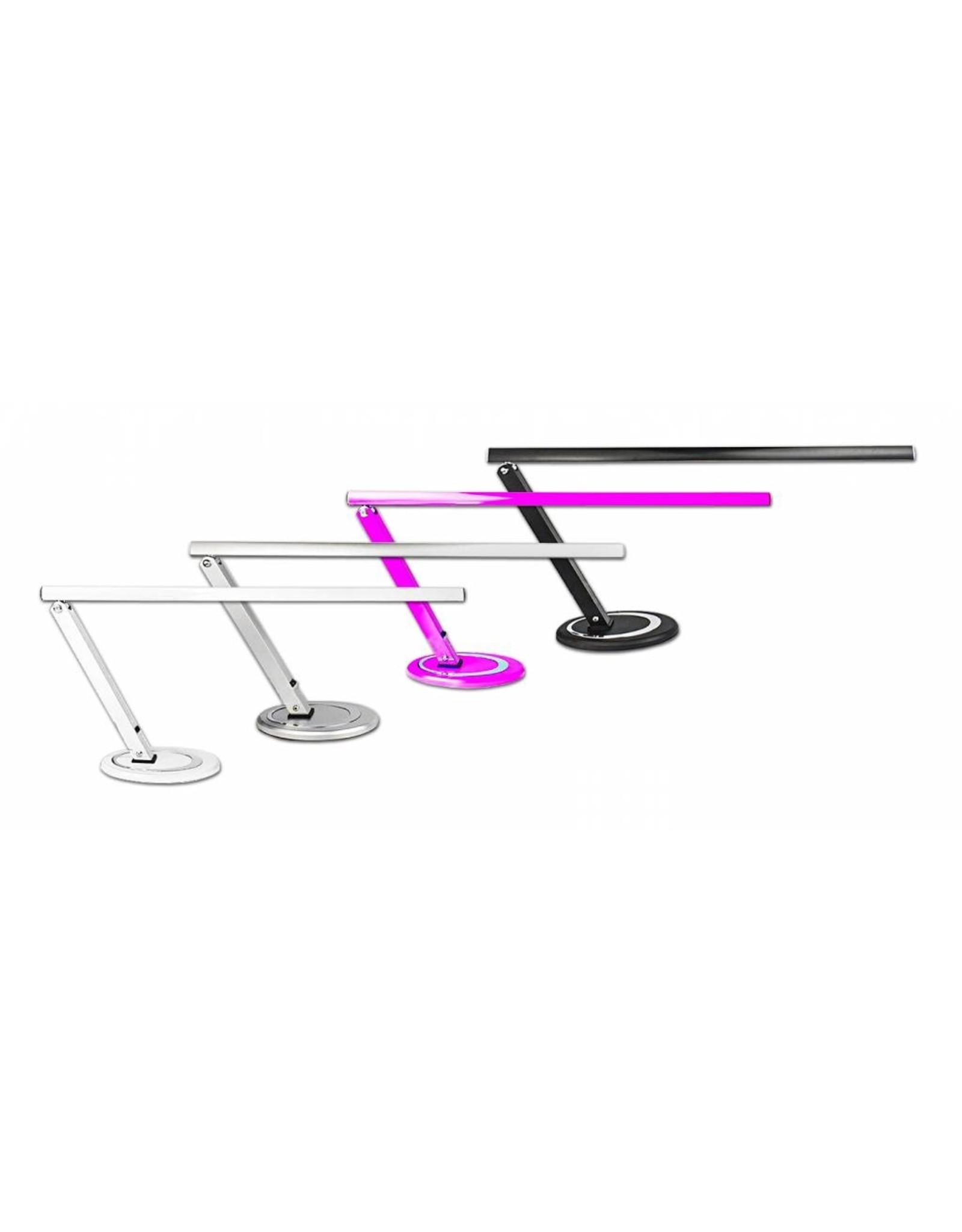 Merkloos Tafellamp Zilver - lang