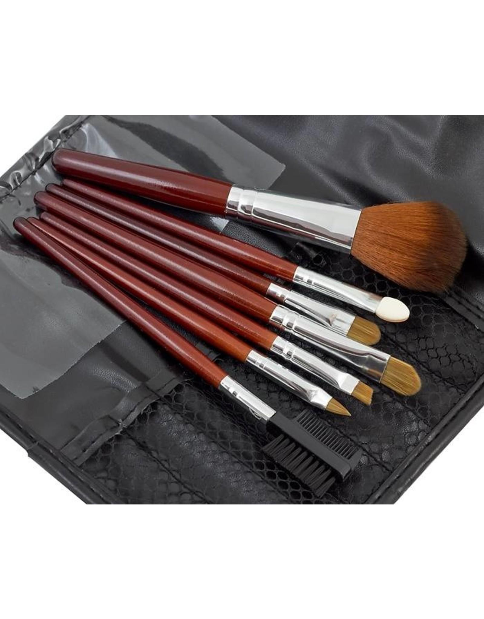 Merkloos Make - up kwasten (7 delige)