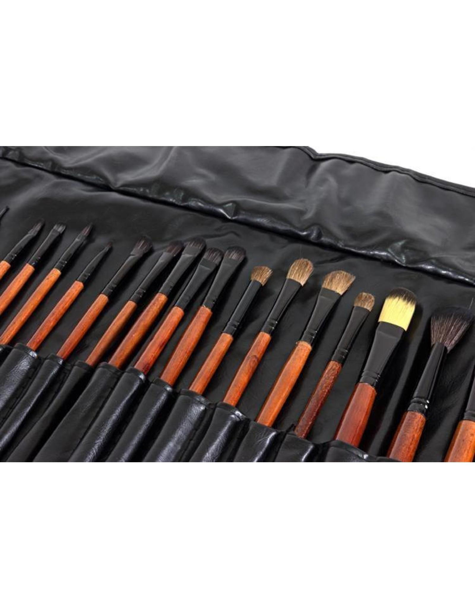 Merkloos Make - up kwasten  (24 delige)