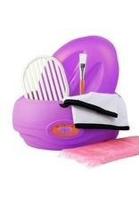 Mega Beauty Shop® Paraffinebad set standaard Paars