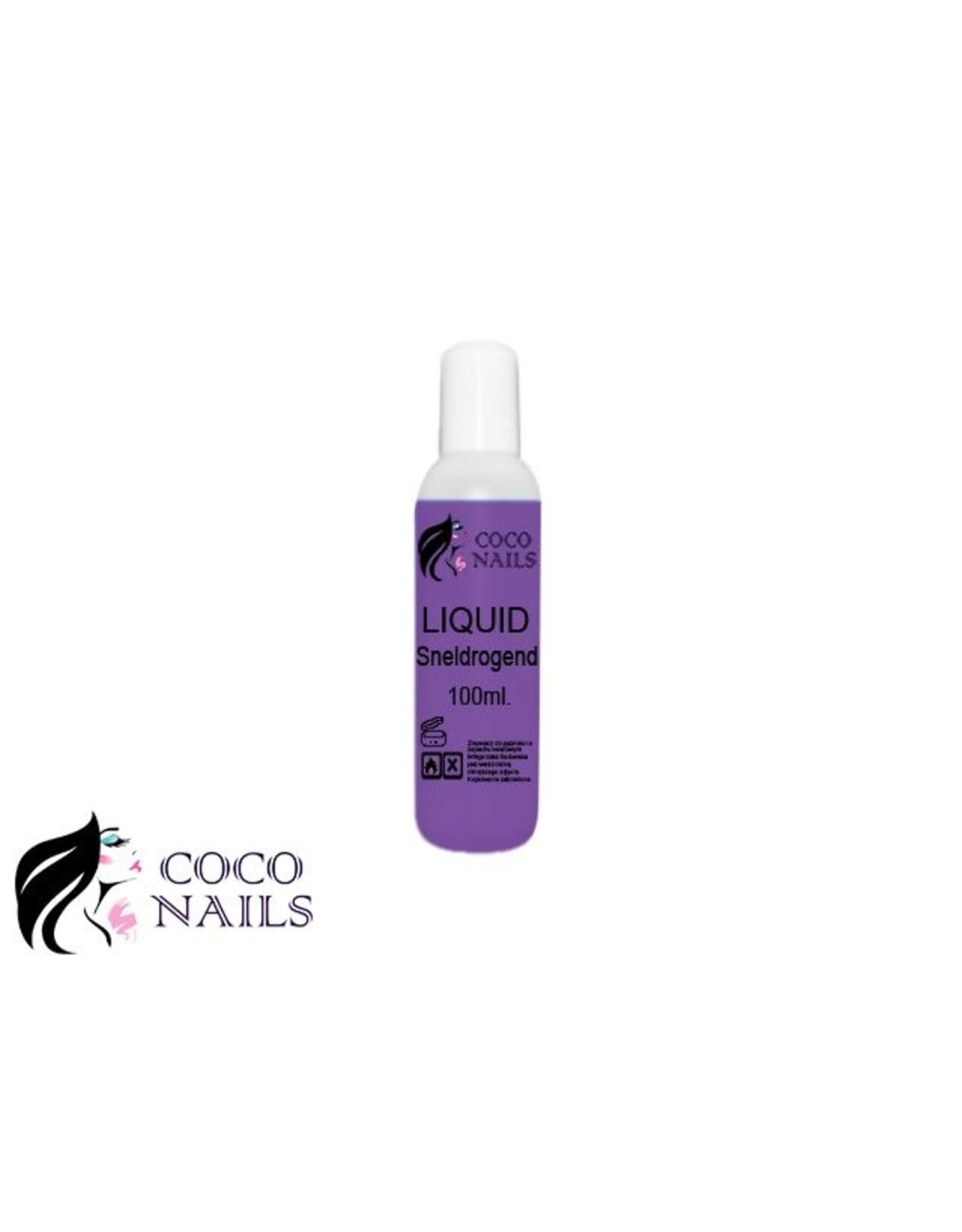 Coconails Acryl vloeistof (Liquid) Sneldrogend paars PRO 100 ml