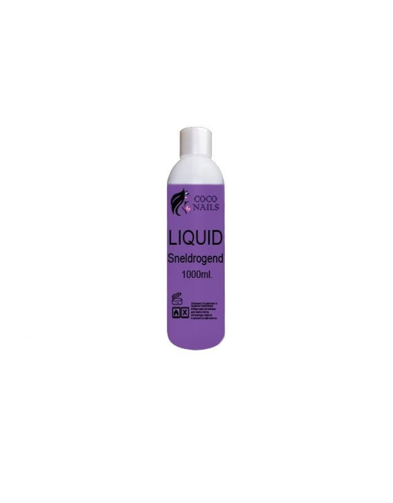 Coconails Acryl vloeistof (Liquid) Sneldrogend paars PRO 1000 ml
