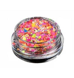 Merkloos Neon glitters (nr. 01)