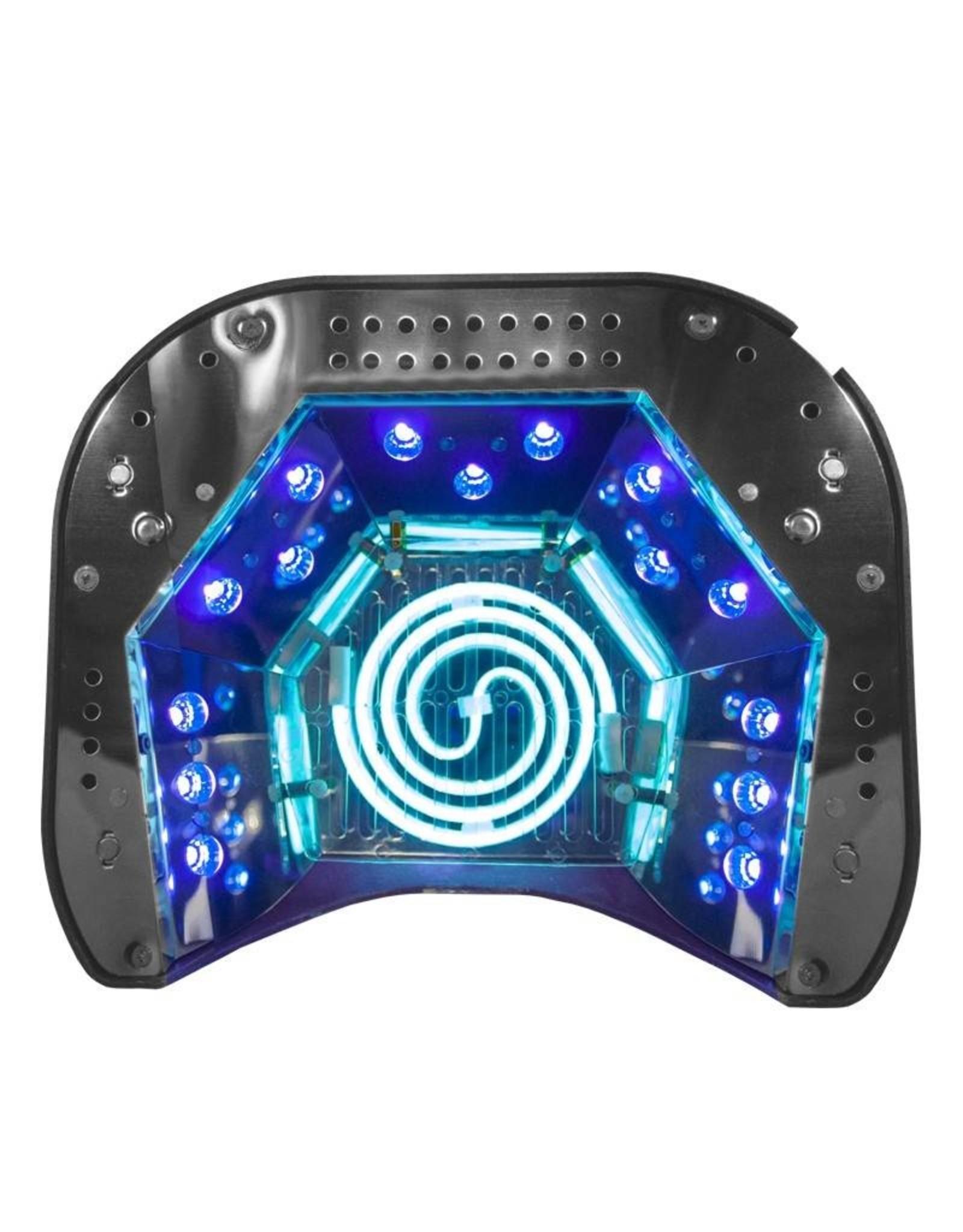 Merkloos ACTIE! CCFL & LED COMBO 48 watt met sensor zilver
