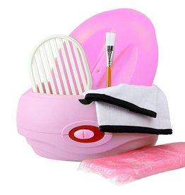 Mega Beauty Shop® Paraffinebad set standaard roze
