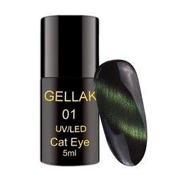Coconails Cat Eye Gellak Groen