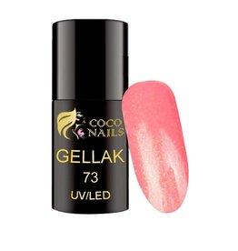Coconails Gellak Licht Koraal Glitter 5 ml (nr. 73)