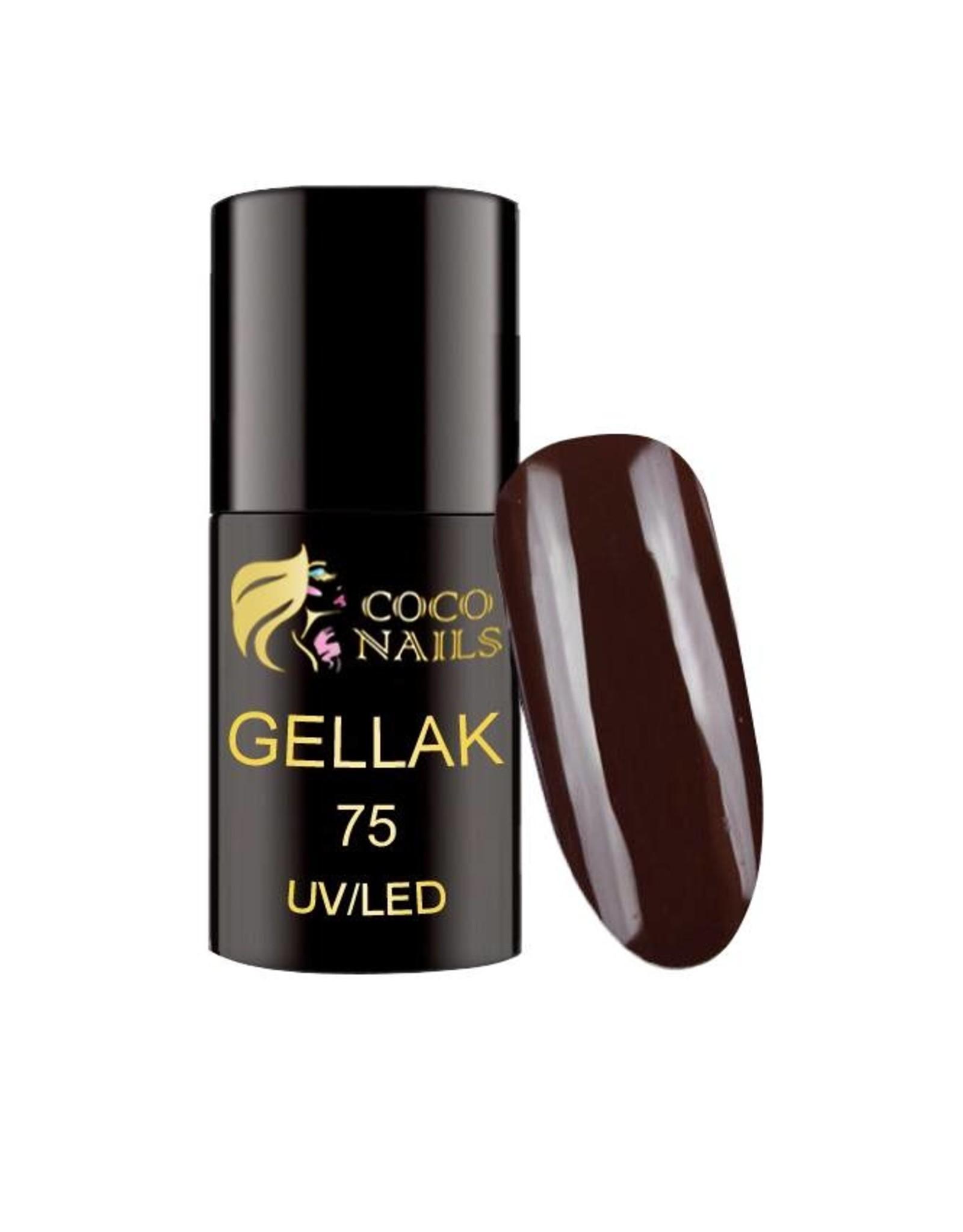 Coconails Gellak Bruin 5 ml