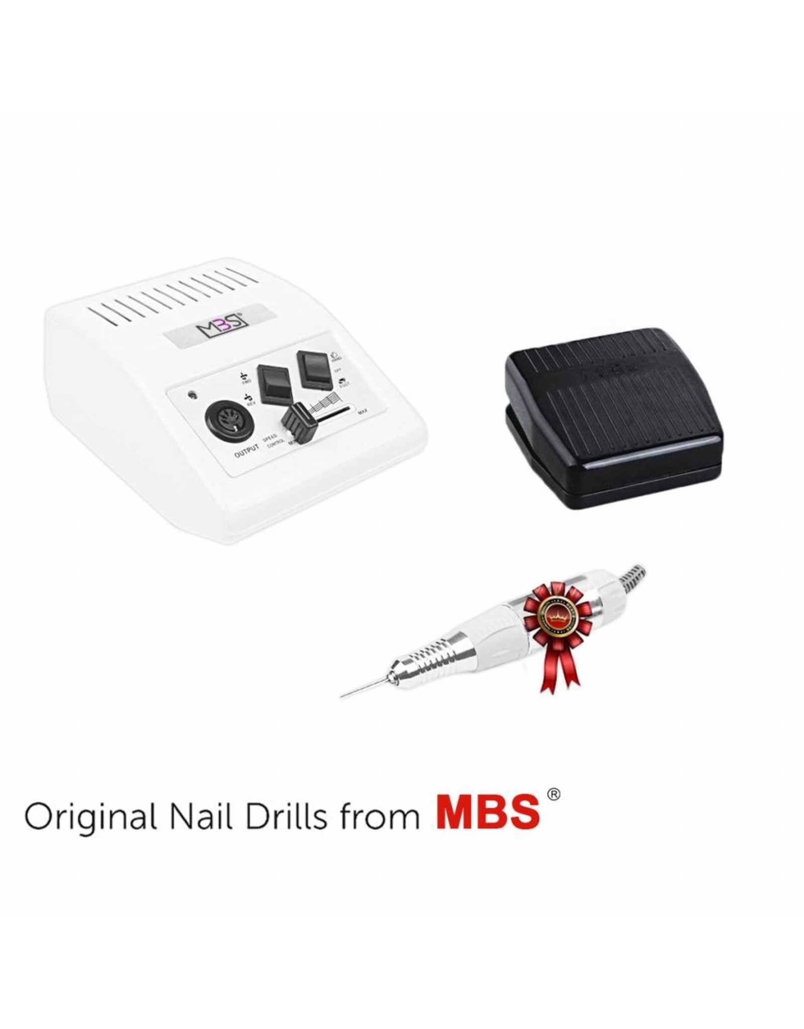 Mega Beauty Shop® Nagelfrees JD500 35Watt Originele + Keramische frees MBS®
