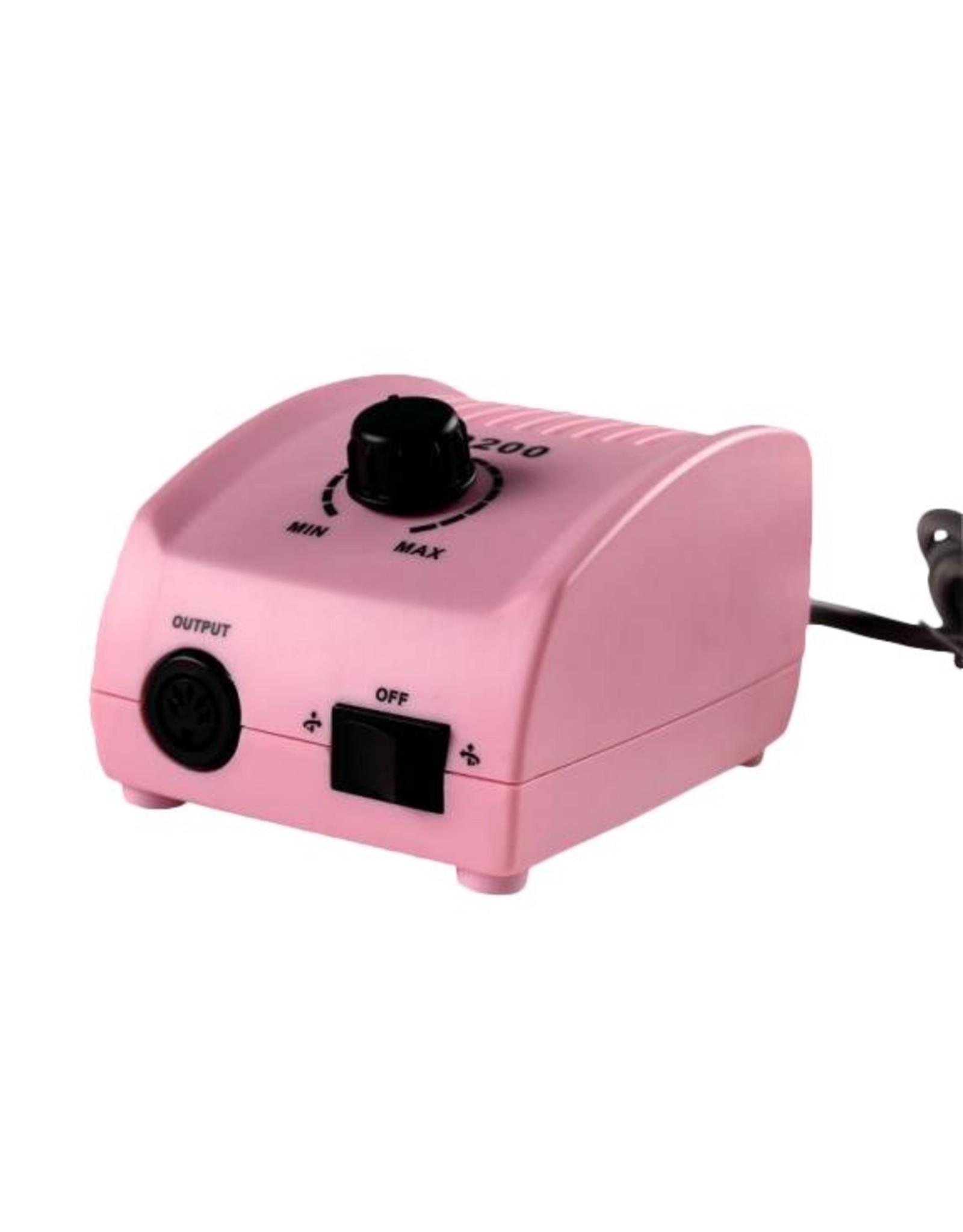 Mega Beauty Shop® Nagelfrees JD200 Roze Originele MBS® + Keramische frees