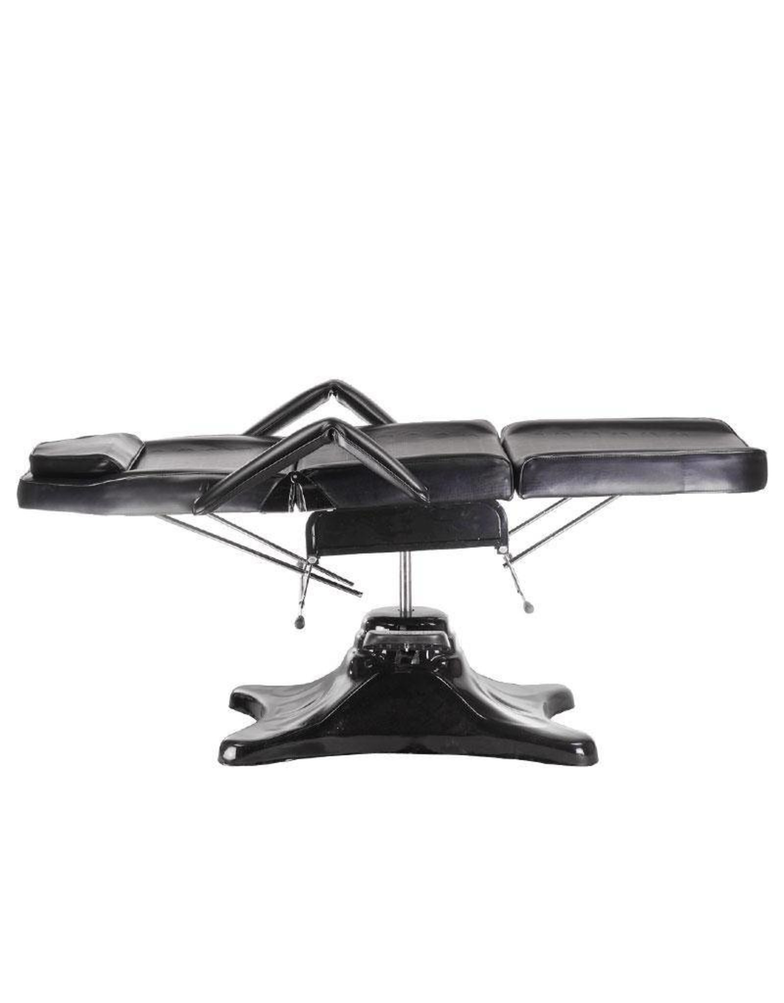 Mega Beauty Shop® Hydraulische Tattoo stoel Zwart