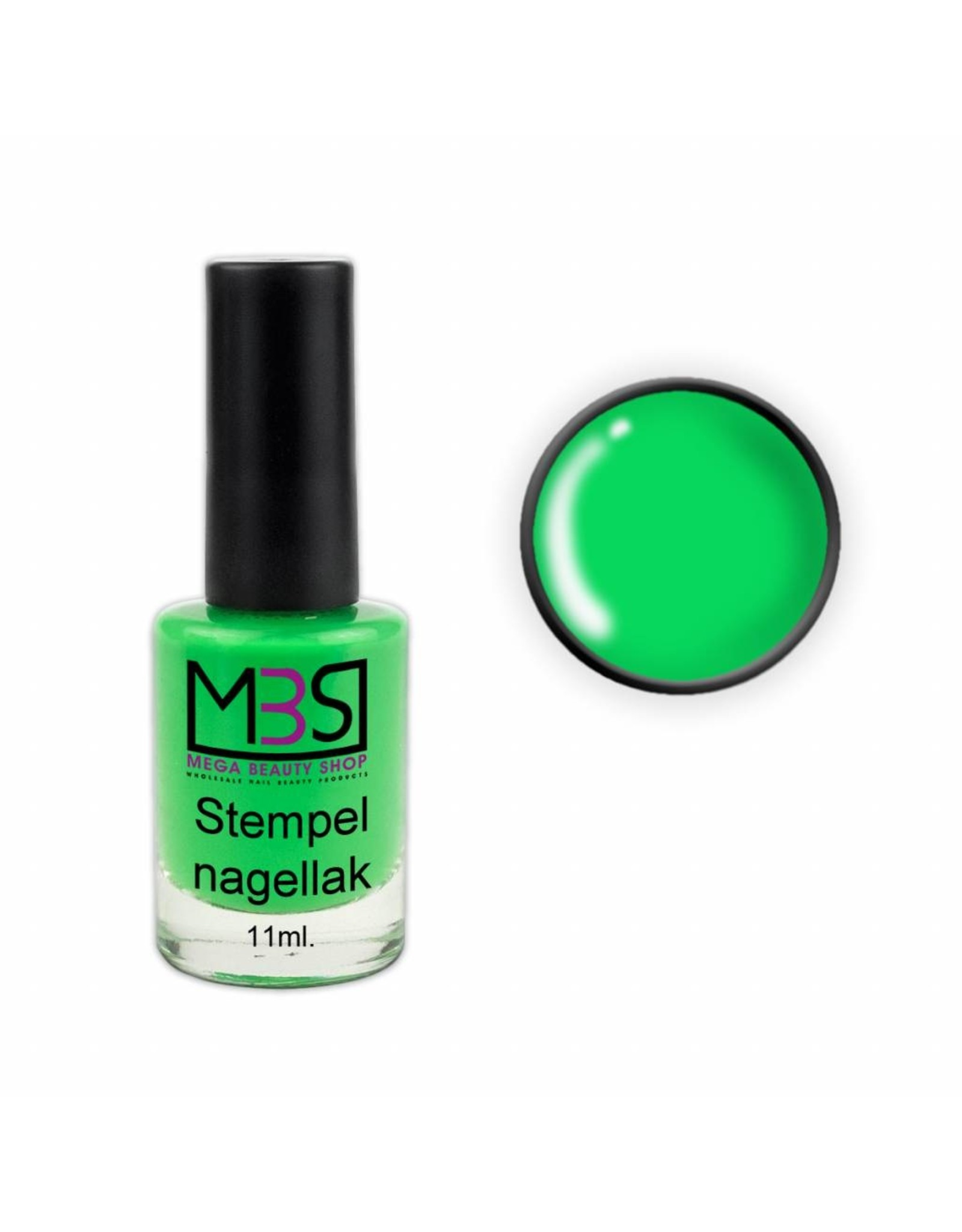 Mega Beauty Shop® Stempellak Spring Mint 11 ml