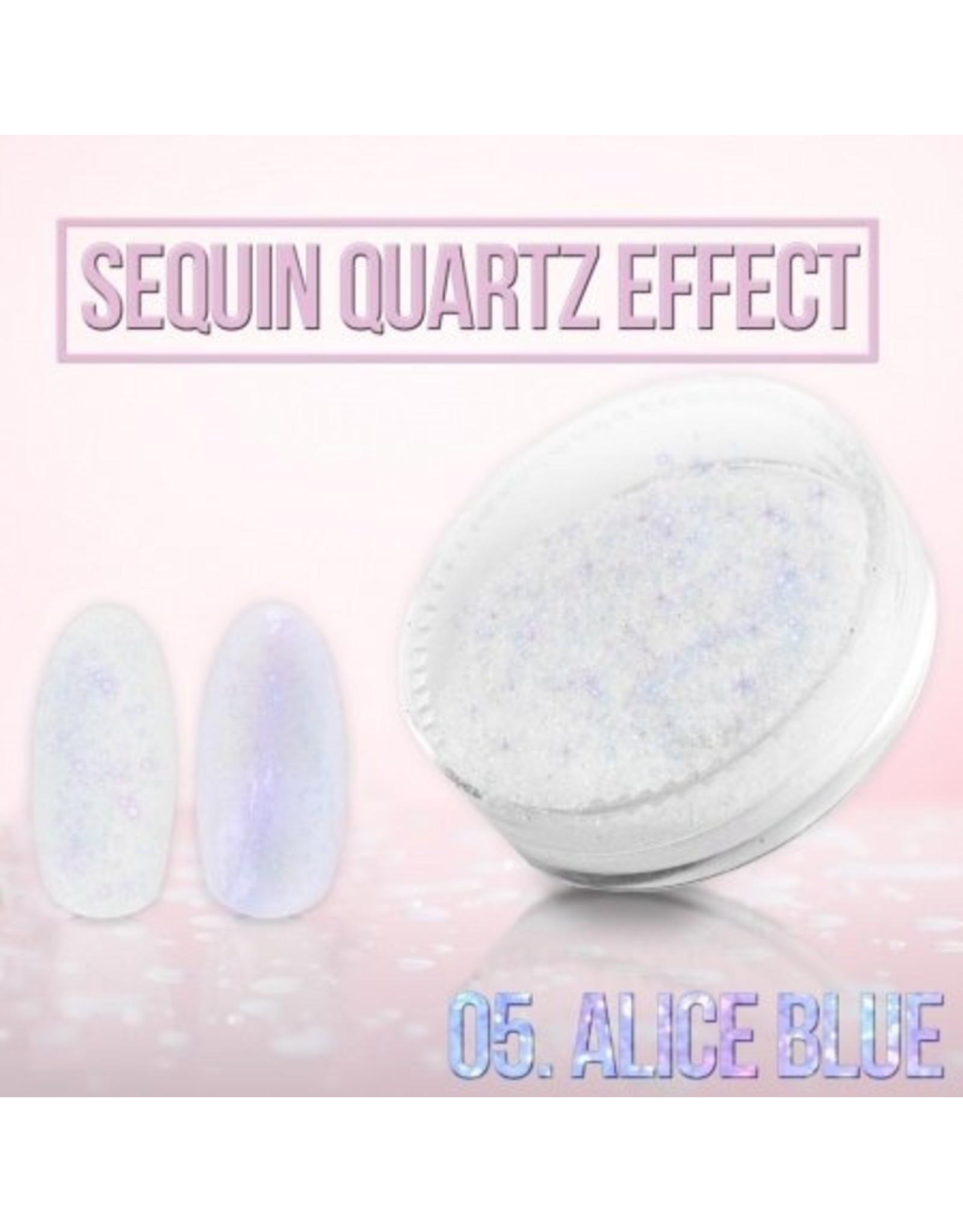Merkloos Seaquin Quarts effect - Alice Blue