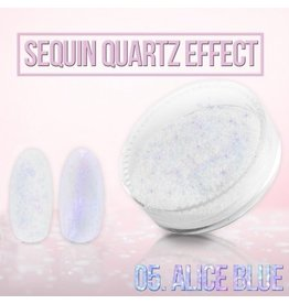 Merkloos Seaquin Quarts effect - Alice Blue (nr. 05)