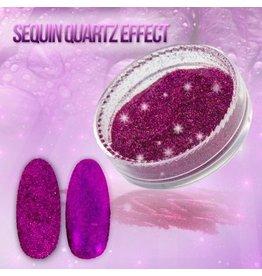 Merkloos Seaquin Quarts effect - Orchid (nr. 20)