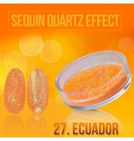 Merkloos Seaquin Quarts effect - Ecuador (nr. 27)
