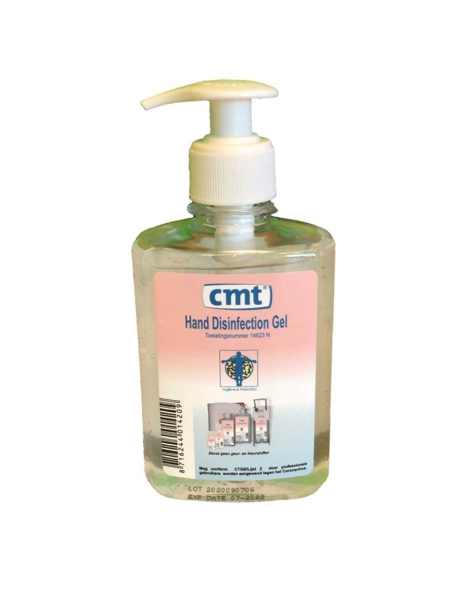 CMT CMT Alcoholgel pomp 250 ml