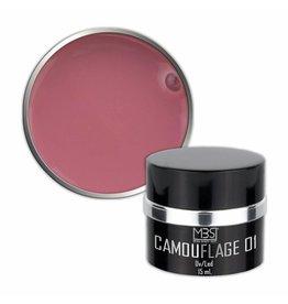 Mega Beauty Shop® PRO Builder Camouflage 15 ml (nr. 01)