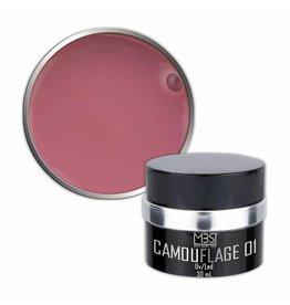 Mega Beauty Shop® PRO Builder Camouflage 30 ml (nr. 01)