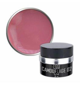 Mega Beauty Shop® PRO Builder Camouflage  30 ml (nr. 02)