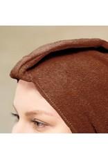 Mega Beauty Shop® Badstof tulband Bruin