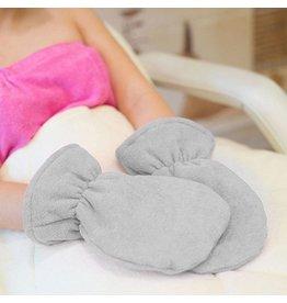 Mega Beauty Shop® Badstof handschoenen Grijs