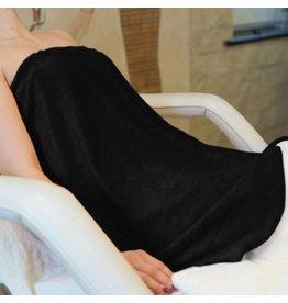 Mega Beauty Shop® Badstof omslagdoek Zwart
