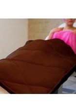 Mega Beauty Shop® Badstof gewatteerde deken Bruin