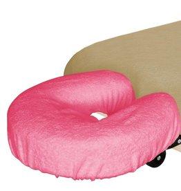 Mega Beauty Shop® Badstofhoes voor uitsparing massagebank  Donker Roze