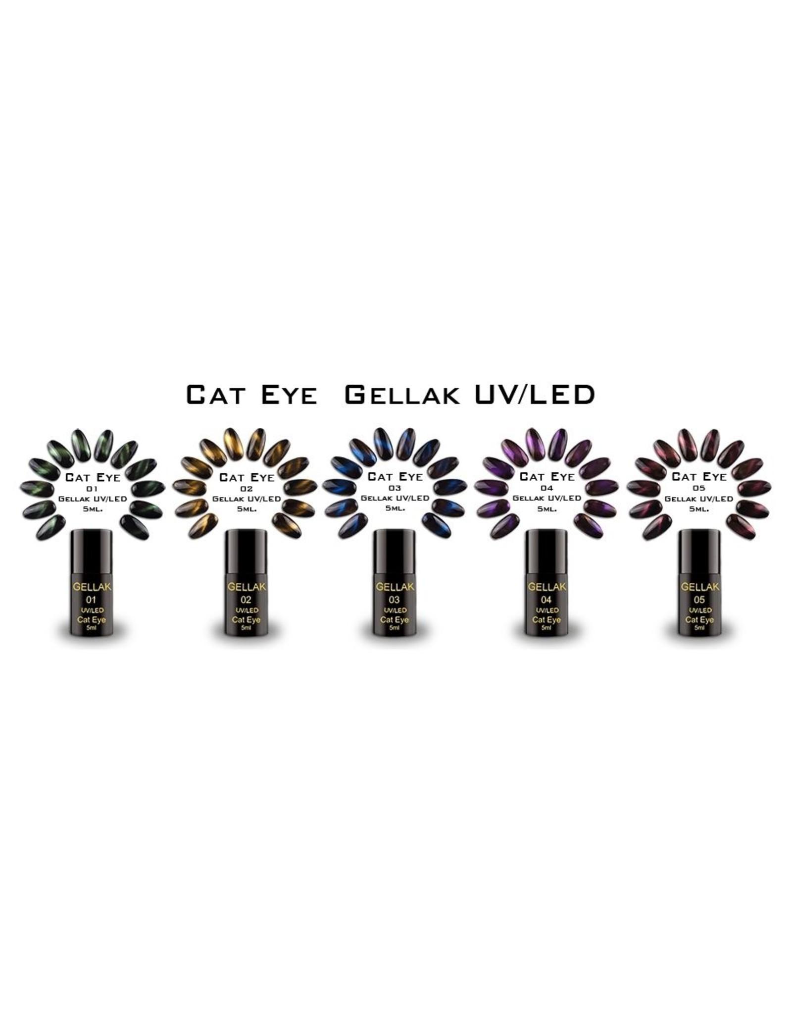 Coconails Cat Eye Set - 5 stuks + Magneet standaard GRATIS!