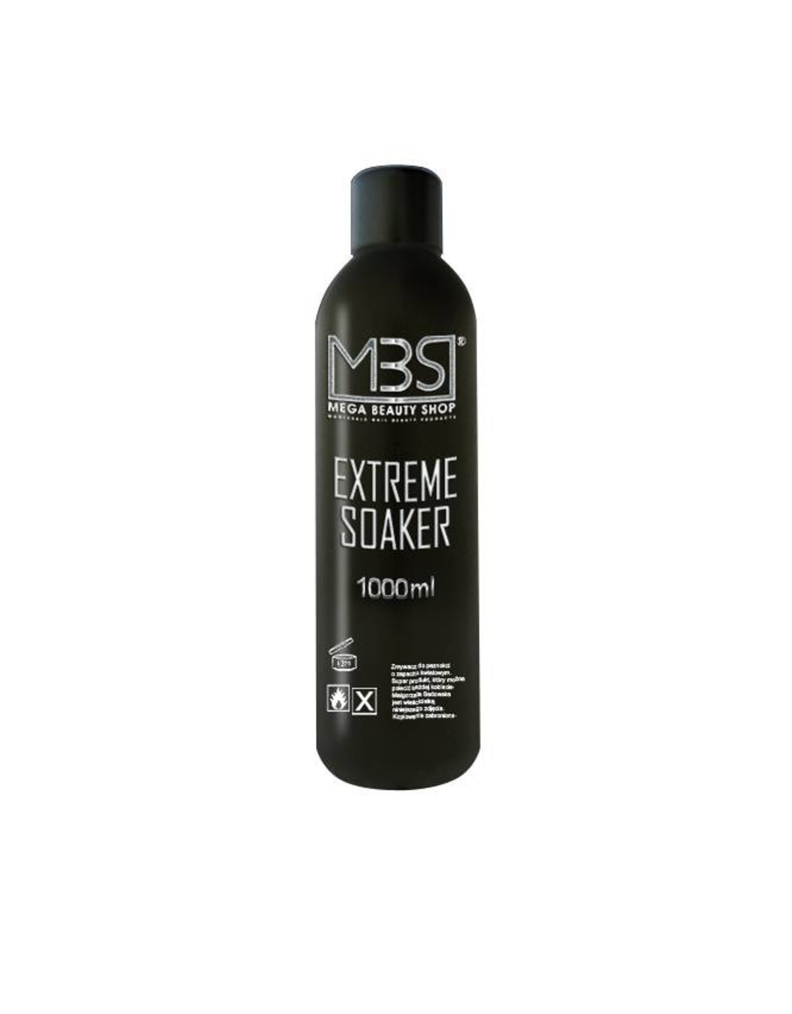 Mega Beauty Shop® Extreme gellak remover (1000 ml)     met aardbeiengeur
