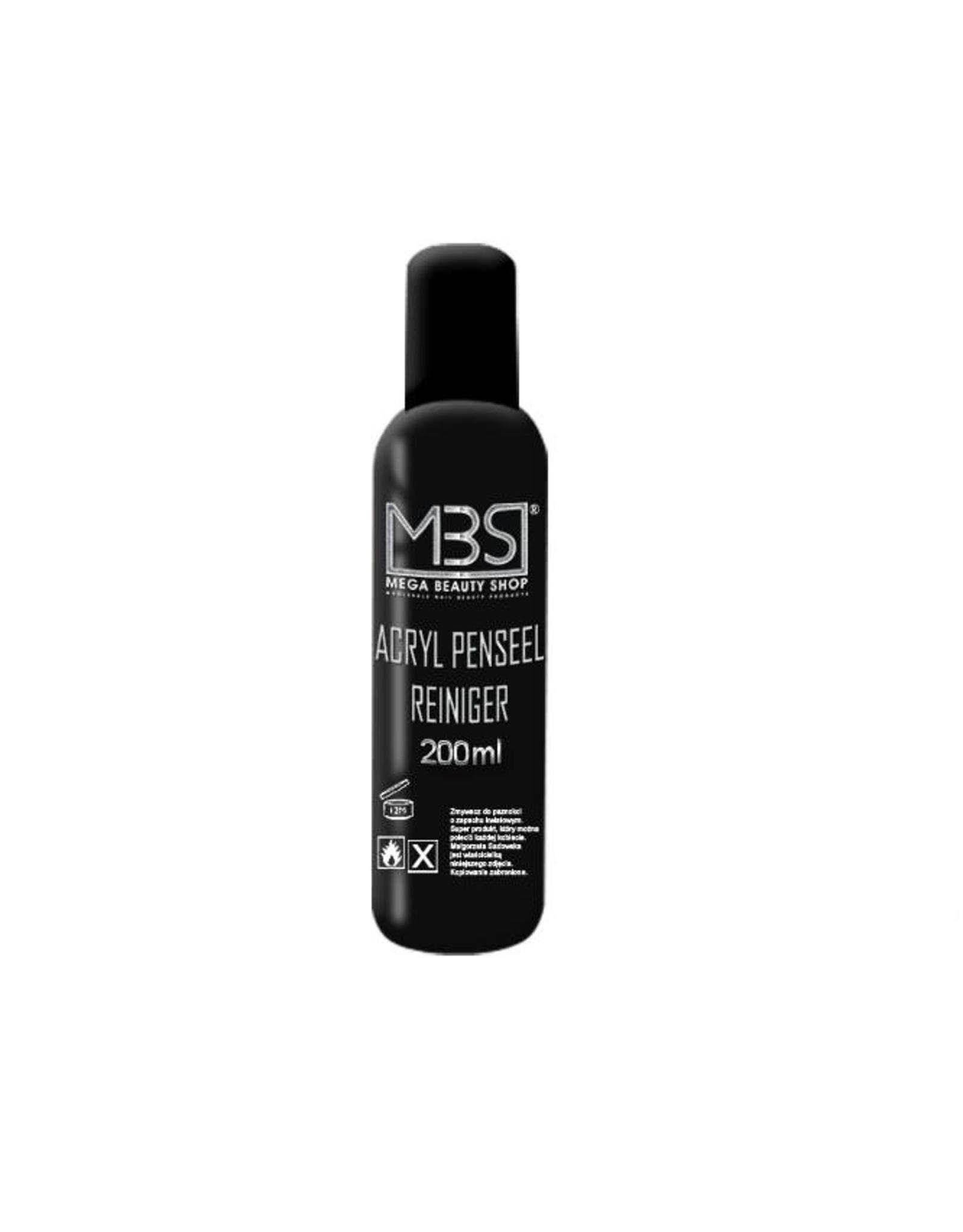 Mega Beauty Shop® Acryl penseelreiniger (200 ml)    met amandelgeur