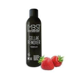 Mega Beauty Shop® Gellak remover (1000 ml)    met aardbeiengeur