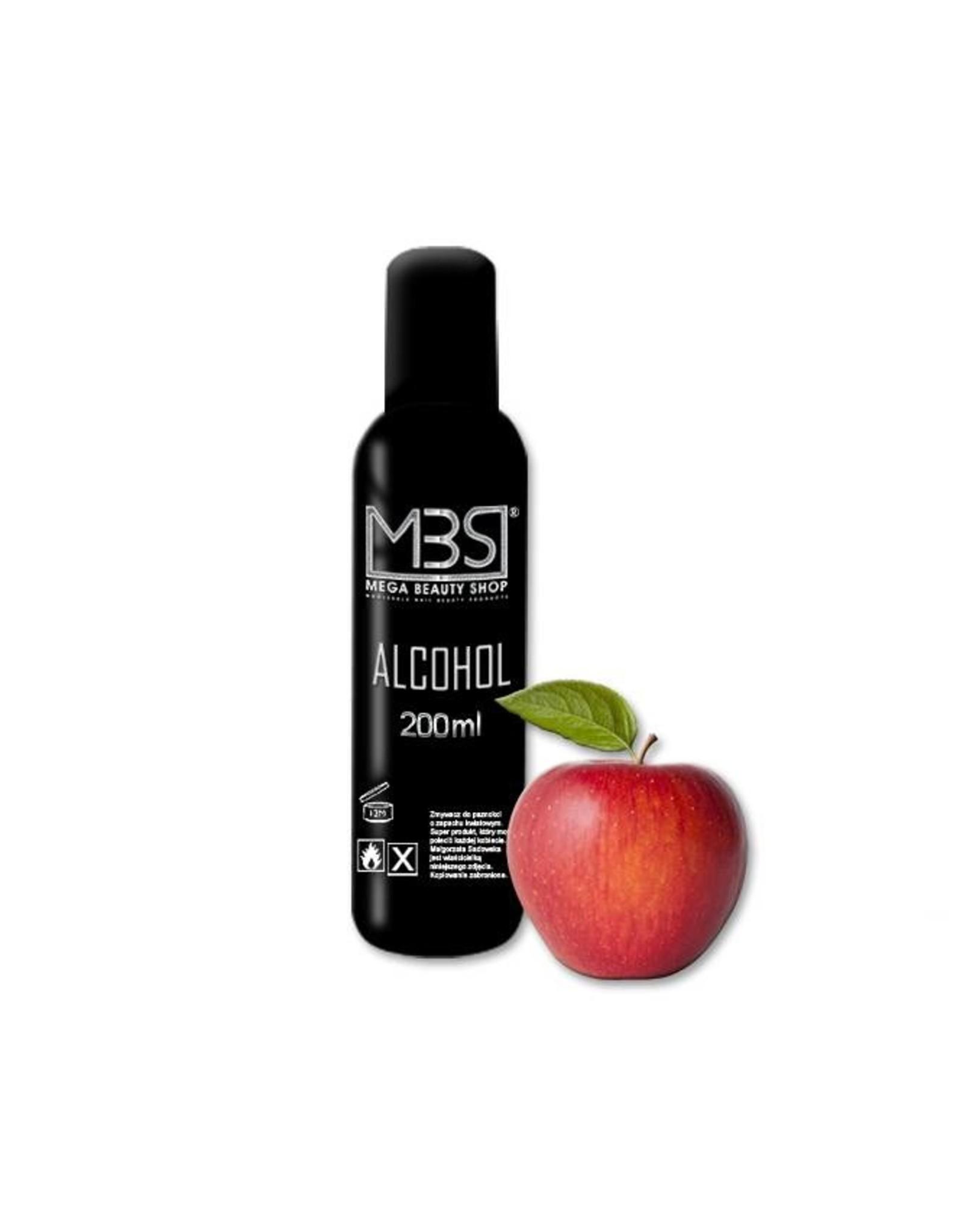 Mega Beauty Shop® Alcohol (200 ml)  met appelgeur