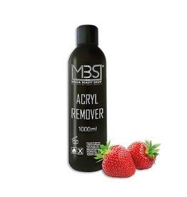 Mega Beauty Shop® Acryl remover (1000 ml)     met aardbeiengeur