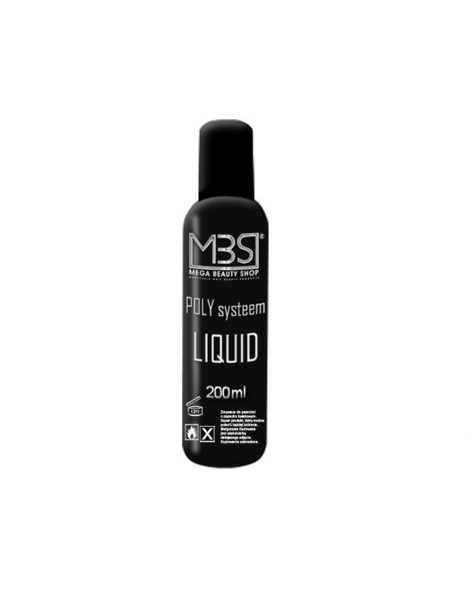 Mega Beauty Shop® POLY Systeem Liquid (200 ml)