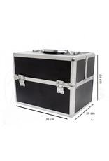 Merkloos Aluminium luxe koffer - pasra