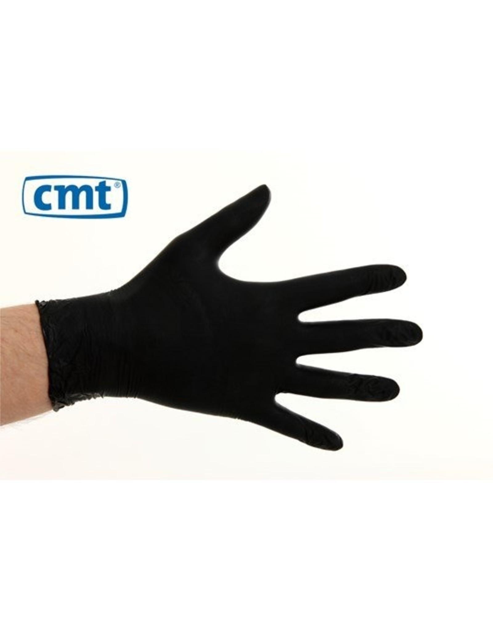 CMT CMT soft nitril handschoenen poedervrij S zwart