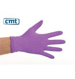 CMT CMT soft nitril handschoenen poedervrij M paars