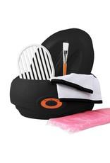 Mega Beauty Shop® Paraffinebad set standaard zwart