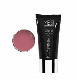Mega Beauty Shop® POLY Systeem Cover 02 UV/LED Tube (30 gram)