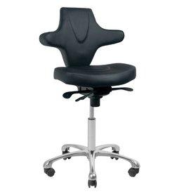 Merkloos Werkstoel Zwart