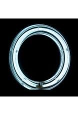 """Merkloos ACTIE! Ring lamp + statief 55Watt 18""""/wit TL"""