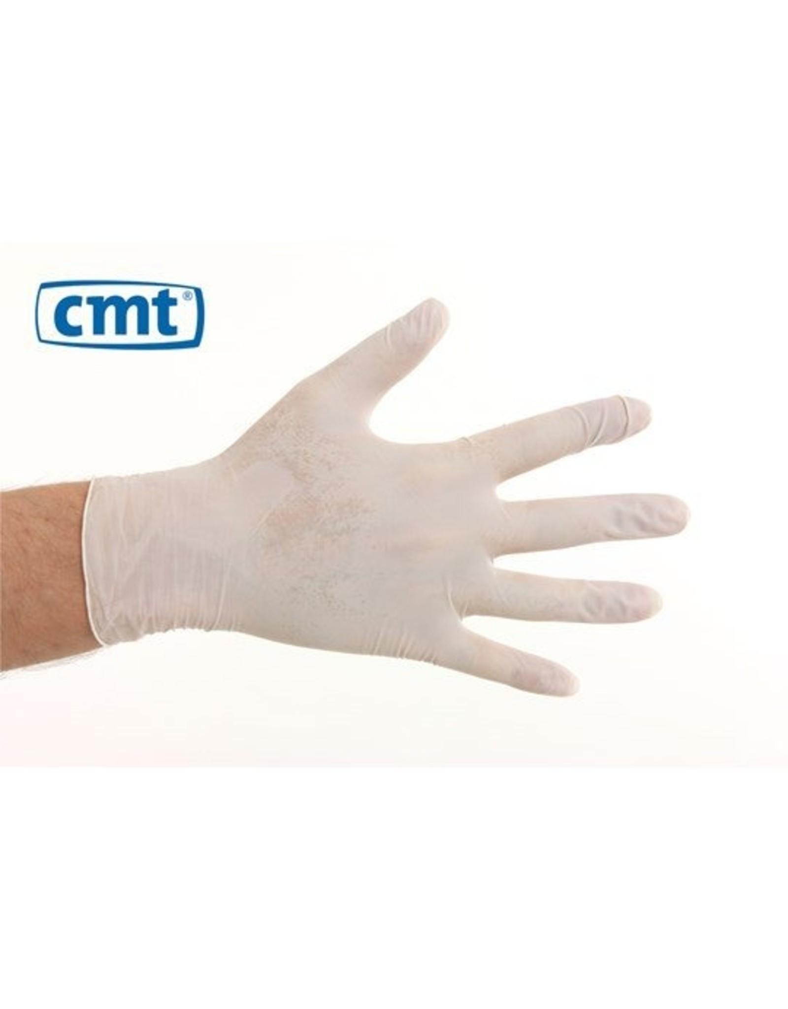 CMT CMT soft vinyl naturel handschoenen poedervrij  L