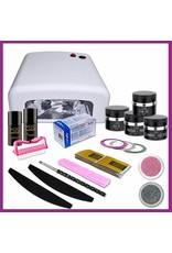 Mega Beauty Shop® Uv gel startpakket met UV lamp MBS®  (4)